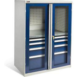 Диком 13.0130-011+13.0133-016. Шкаф ВС-053 с глухими дверьми (без наполнения), 1400x1050x625 мм