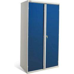 Диком 13.0150-011+13.0152-016. Шкаф ВС-055 с дверьми с окнами (без наполнения), 2000x1050x625 мм