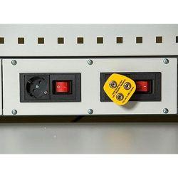 Диком 13.0301-030. Вставка с адаптерами под 4 розетки ESD