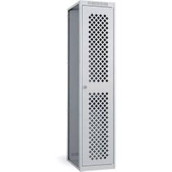 Диком 31.1208-***. Шкаф гардеробный ОД-415 доп. с перфорированной дверью, 1800x400x500 мм