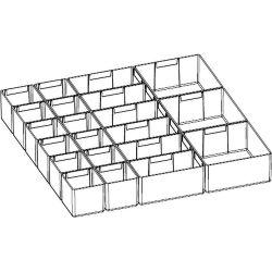 Диком 7983. Лоток пластмассовый микс ESD: Комплект-01 (12 шт. + 6 шт. + 3 шт. )