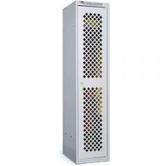 Диком 31.1209-***. Шкаф гардеробный ОД-415 с перфорированной дверью, 1800x422x500 мм